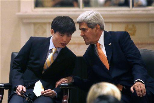 John Kerry, Shin Dong-hyuk